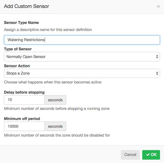 Custom Sensor