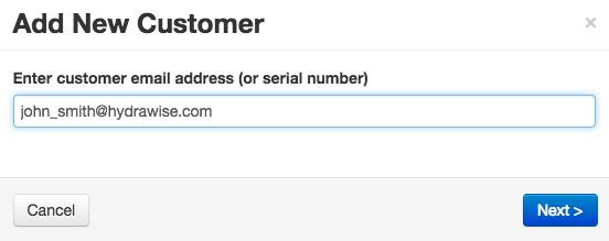 Add a Customer