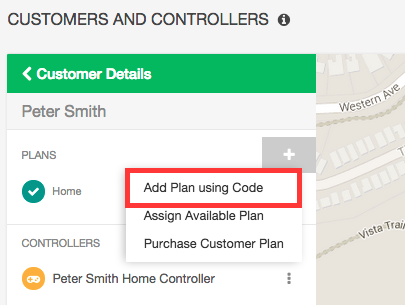 Add Plan Code from Retailer