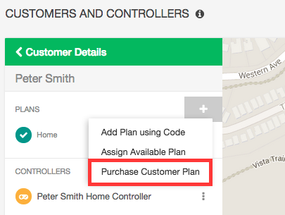 Purchase Customer Plan